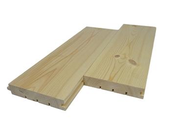 28×113 Sosna Skandynawska pióro-wpust podłoga klasa AB 4