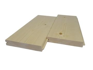 28×170 Świerk Skandynawski stropo-podłoga pióro-wpust klasa AB 1