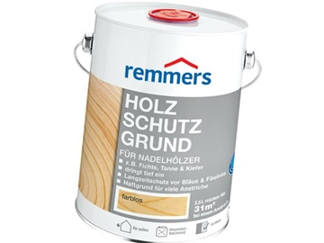 remmers holzschutz grund 5l bezbarwny rozpuszczalnikowy impregnat do drewna zabezpieczaj cy. Black Bedroom Furniture Sets. Home Design Ideas