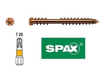 SPAX taras stare złoto wkręty
